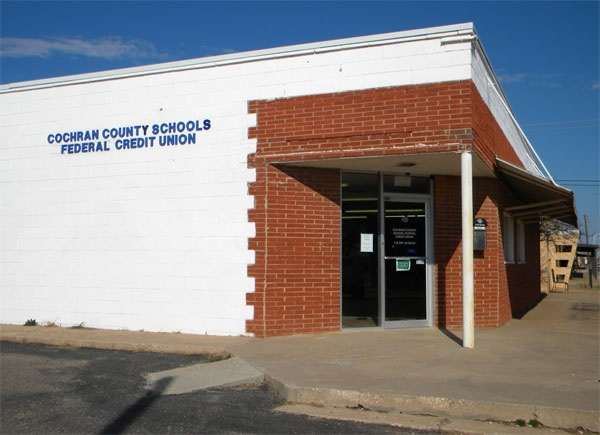 Cochran County Schools FCU Office Building